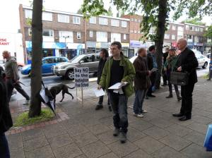 Campaigning against Nottingham Free School